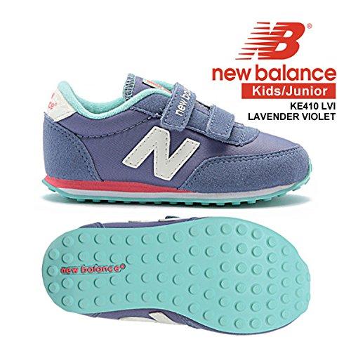 7650ca51fabde Amazon   new balance(ニューバランス) キッズ/ジュニア ニューバランス New Balance Lifestyle KE410  LVI LAVENDER VIOLET (ラベンダーバイオレット) 16.0cm   new ...