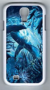 Hammerhead Shark PC Case Cover for Samsung Galaxy S4 and Samsung Galaxy I9500 White