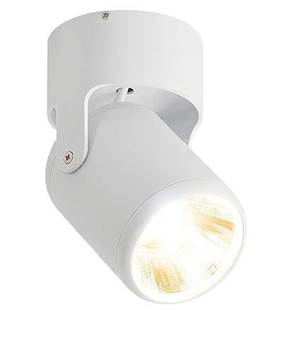 luz focos led interior Industrial de regulable lámpara LED focos focos Orientable barra Budbuddy de superficie Salón focos focos 12W techo de srdtQh