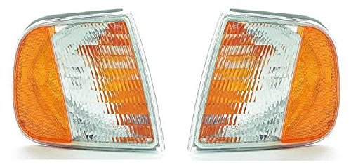 1997-2003 Ford F150 Cornerlamp Cornerlight Pair Set Both Driver and Passenger NEW 97-02 Ford Expedition F75Z13201AC F75Z13200AC FO2550118 FO2551118 Many