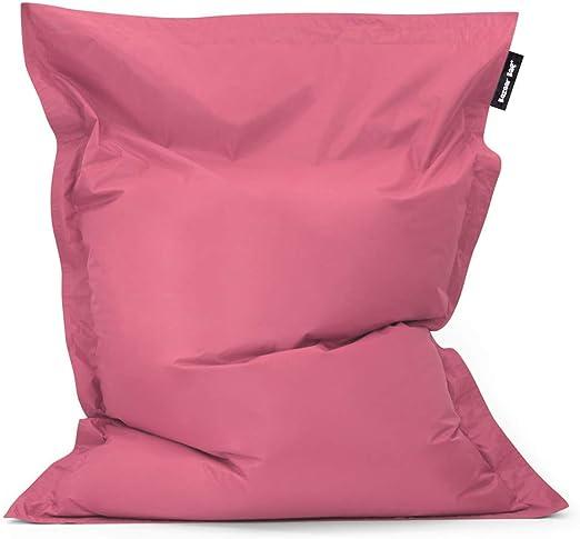 Bean Bag Bazaar Bazaar Bag - Brezo Rosa, 180cm x 140cm, Puf Gigante para Interiores y Exteriores – Puff Enorme, Ideal para Usar en el Hogar y el Jardín: Amazon.es: Hogar