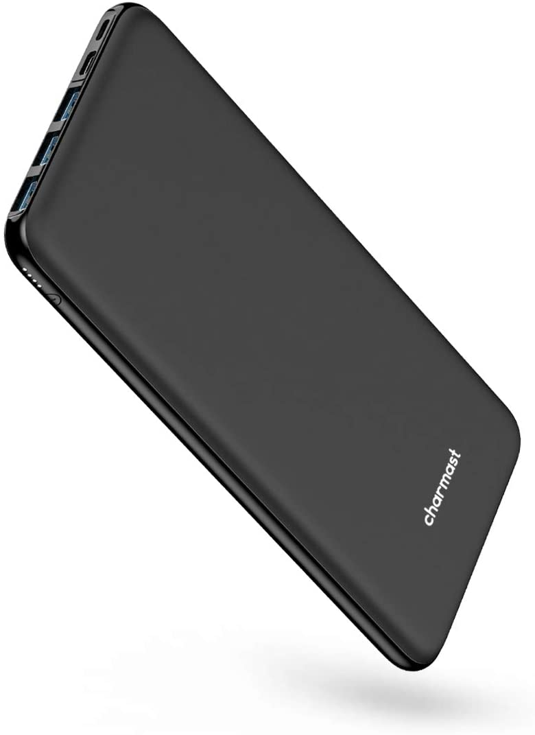 USB C Power Bank, 26800mAh Portable Charger USB C, Charmast Slim Thin 3A High-Speed Battery Pack Type C with 3 Input & 4 Output Compatible with MacBook, iPhone, Samsung, Pixel More