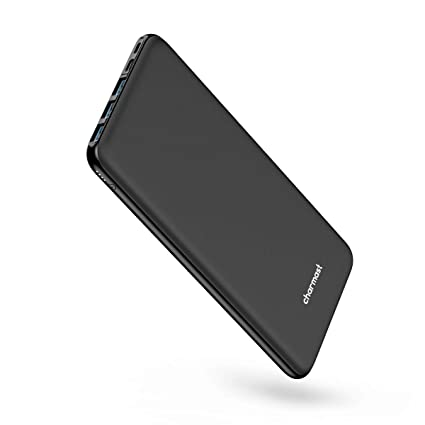 Amazon.com: Charmast Charger USB C Power Bank Negro cargador ...