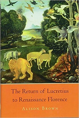 Buy The Return of Lucretius to Renaissance Florence (I Tatti