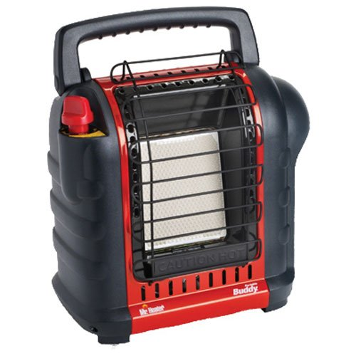 Mr. Heater F232000 MH9BX Buddy 4,000-9,000-BTU Indoor-Safe Portable Radiant Heater (Propane Camper Furnace)