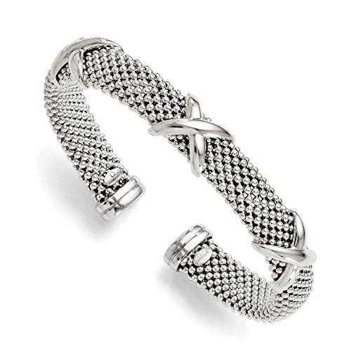 Jewelry Adviser Bangle Bracelets Leslie's Sterling Silver Polished Flexible Bangle