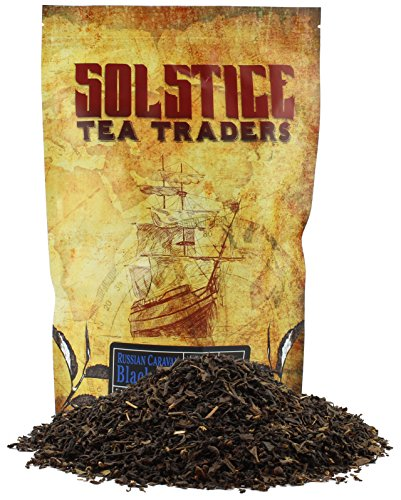 Russian Caravan Loose Leaf Tea (8 ounce Bulk Bag); Specialty Hand-Blended Tea from Oolong, Assam, and Lapsang Souchong; Makes 90+ Cups of Tea ()