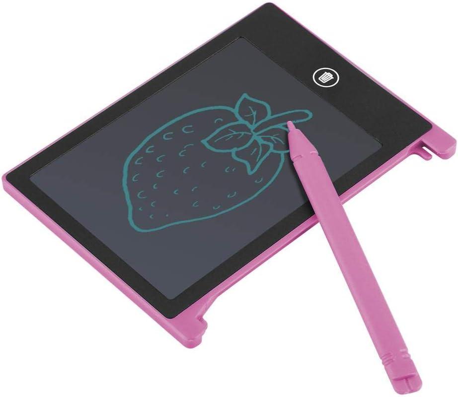 4.4inch LCD Panel Writing Tablet Drawing Doodle Board for Children Kids Adult Blue Strnek Blackboard Writing Tablet