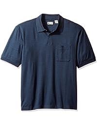Men's Short Sleeve Minibox Knit Polo