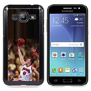- Raiser 8 Basketball - - Cubierta del caso de impacto con el patr??n Art Designs FOR Samsung Galaxy J2 Queen Pattern