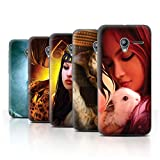 Official Elena Dudina Phone Case / Cover for Vodafone Smart Speed 6 / Pack 16pcs Design / The Animals Collection