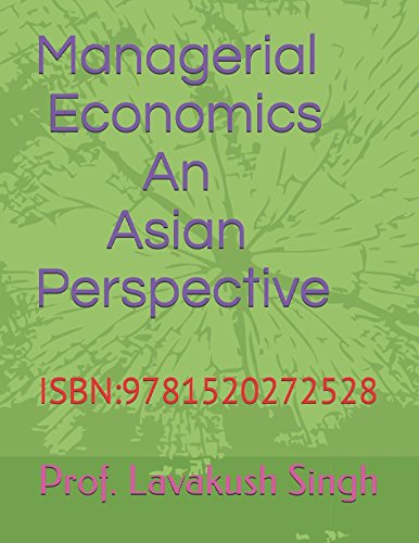 Managerial Economics: An Asian Perspective