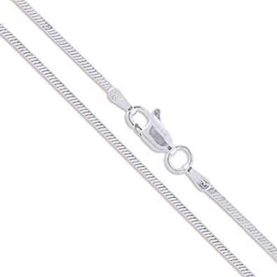 51 My-jewellery 925 Silver silicone Chain 20