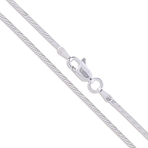 Sterling Silver Magic Snake Chain 1mm Solid 925 Italy New Brazilian Necklace Cdm2b