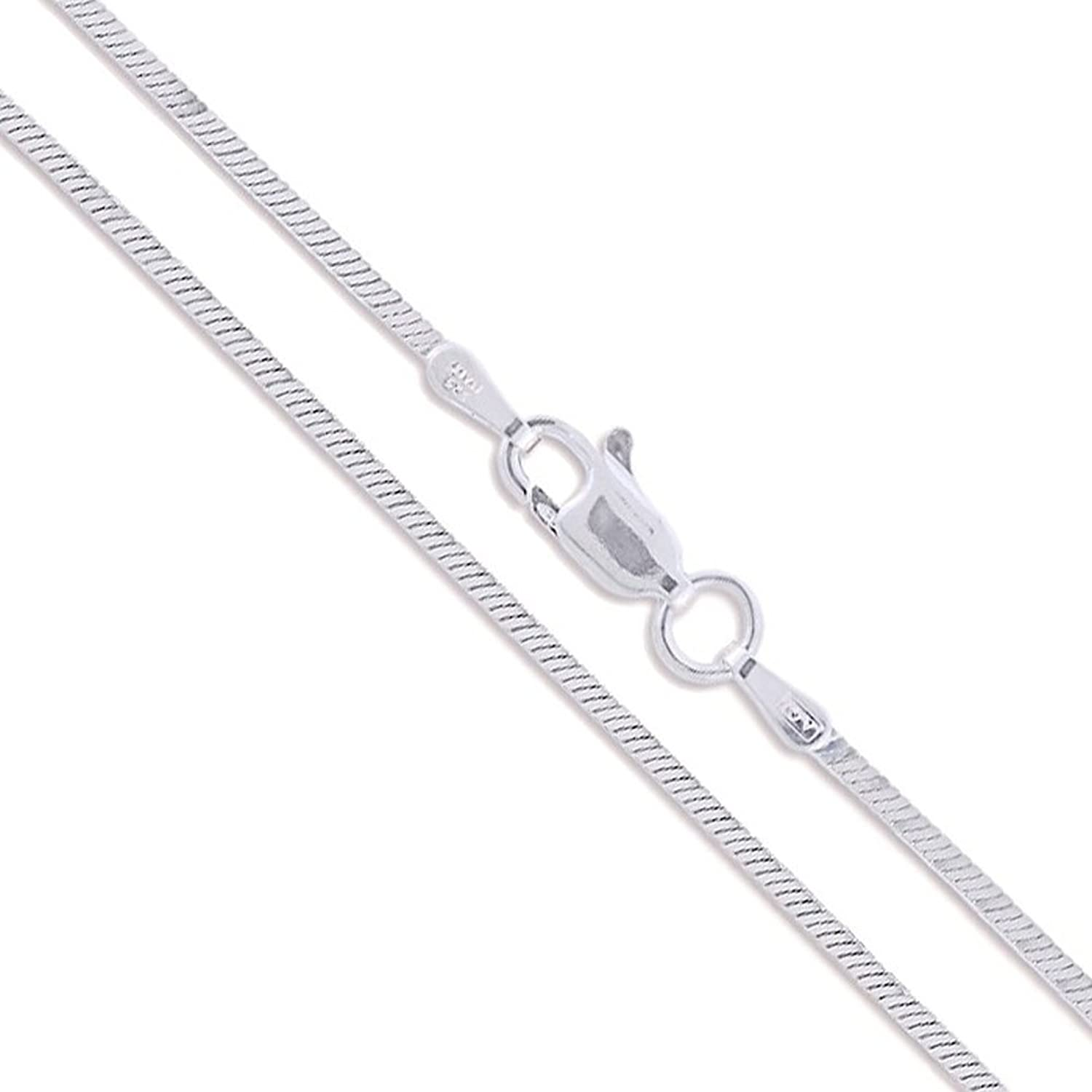 Sterling Silver Magic Snake Chain 1mm Solid 925 Italy New Brazilian Necklace AMgcME8
