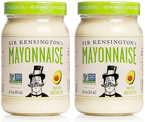 Sir Kensington's Avocado Oil Mayonnaise 16oz, Pack of 2