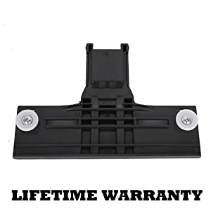 W10350375 Dishwasher Top Rack Adjuster Replacement Part w/ 1.25 Inch Diameter Wheels for KitchenAid Whirlpool Kenmore Dishwasher - Redesigned for Durability Replace # W10712395 3516330 AP5957560