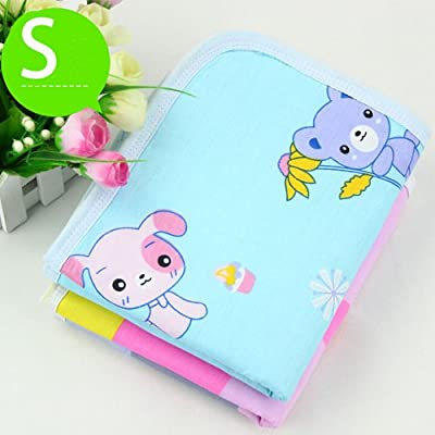 Home Popular Reusable Baby Infant Waterproof Urine Mat Cover Burp Changing Pad