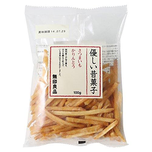 Japanese Sweet - Muji Sweet Potato Karinto Snack (100g x 6 Packs) (Imported) Japanese Snacks