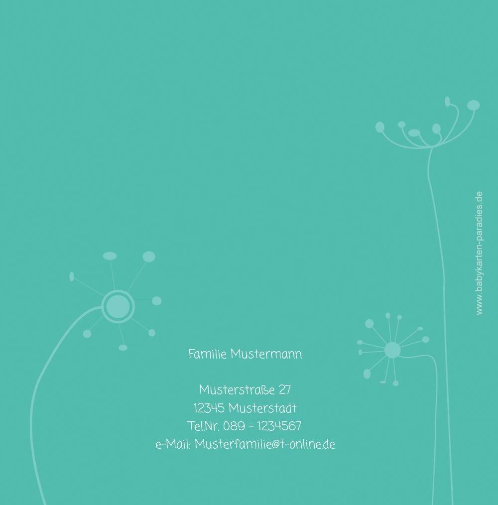 Kartenparadies Danksagung für Geburt Baby Dankeskarte abstrakte Blaumen, Blaumen, Blaumen, hochwertige Danksagungskarte Baby inklusive Umschläge   100 Karten - (Format  145x145 mm) Farbe  Orange B01N4TY86E   Attraktive Mode    Üppiges Design    Lebhaft  14f93f