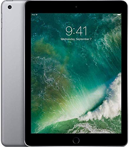 (Renewed) Apple iPad 9.7 inches with WiFi 32GB- Space Gray (2017 Model)