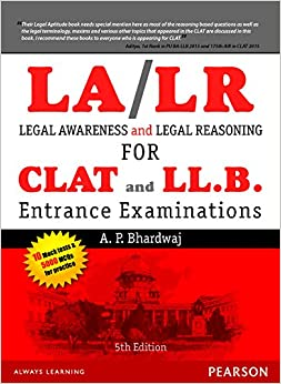 Legal Awareness And Legal Reasoning For The Clat And Ll.B. Entrance Examinations, 5/E