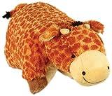"Pillow Pets Authentic Jumbo Giraffe - 30"" Jumbo Folding Plush Pillow"