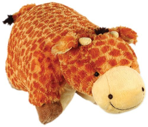 "Pillow Pets Authentic Jumbo Giraffe - 30"" Jumbo Folding P..."