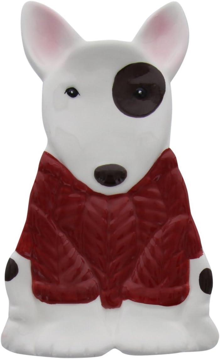 Bull Terrier Ceramic Spoon Rest by World Market