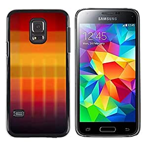 iKiki Tech / Estuche rígido - Gradient colors - Samsung Galaxy S5 Mini, SM-G800, NOT S5 REGULAR!