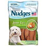 Nudges Jerky Cuts Dog Treats, Chicken Vitamin Essentials, 3 Ounce