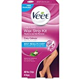 Cheap Veet Leg and Body Hair Remover Cold Wax Strips, 40 ct ( Pack of 10)
