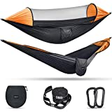G4Free Large Camping Hammock with Mosquito Net 2