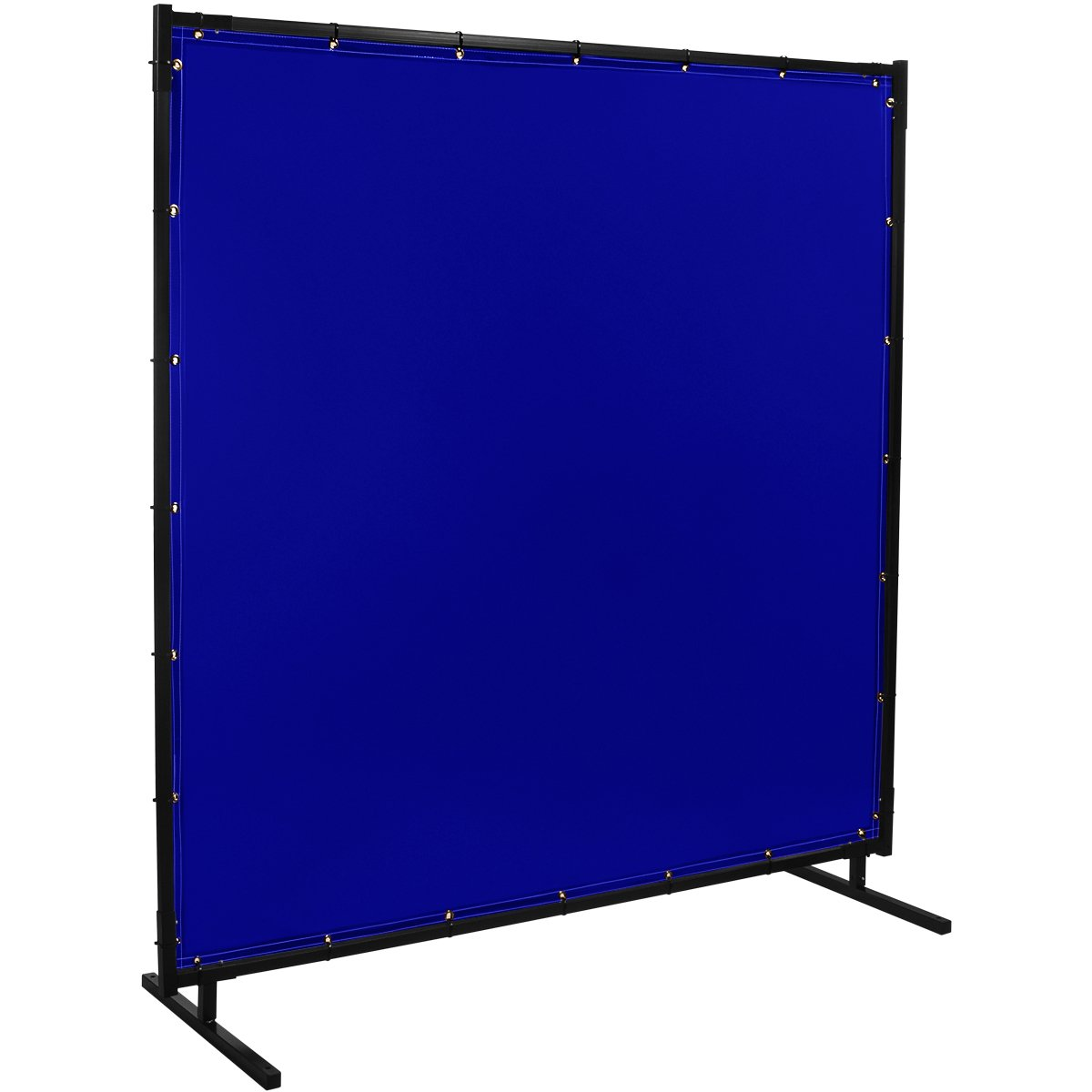 Steiner 525HD-6X8 Protect-O-Screen HD Welding Screen with Flame Retardant 14 Mil Tinted Transparent Vinyl Curtain, Blue, 6' x 8'