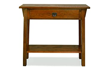 Attractive Leick Mission Hall Console Table, Russet