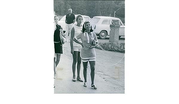 Vintage photo de llevar un traje de verde la Marchioness ...