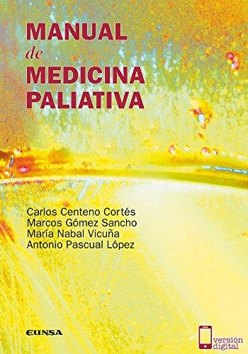 Descargar Libro Manual De Medicina Paliativa Carlos Centeno Cortés