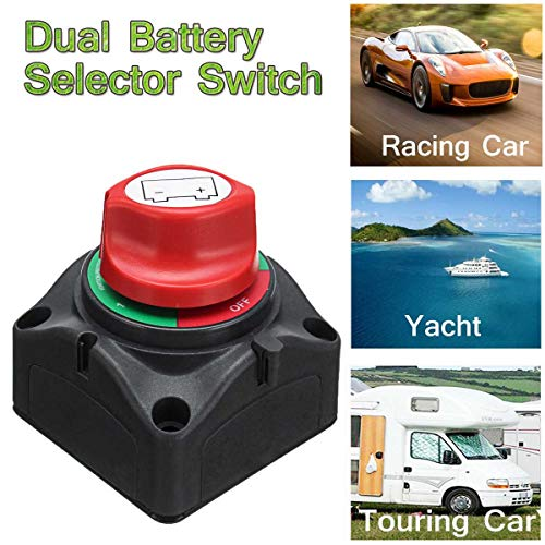 Fincos 12V/24V Marine Battery Switch Isolator 300A for sale  Delivered anywhere in Canada
