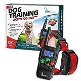 PetTech PT0Z1 Premium Dog Training Shock Collar, Fully Waterproof, 1200ft Range (Red)