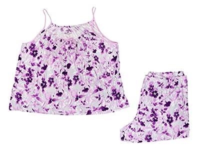 Alfani Women's Printed Tank Top and Boxer Pajama Set