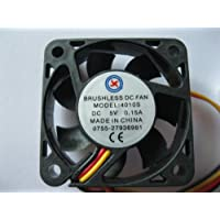 2 pcs Brushless DC Cooling Fan 5V 4010S 7 Blades 3 wire 40x40x10mm Sleeve-bearing Skywalking