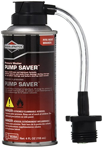 Briggs & Stratton Pressure Washer Pump Saver - 4 Oz. 6039