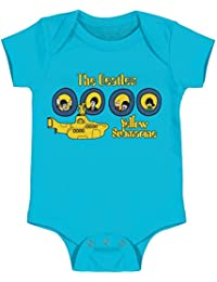 9c69079c43e7 The Beatles Yellow Submarine Portholes Baby Romper T-Shirt