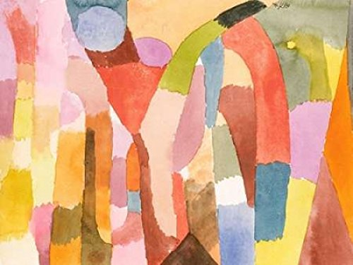 Movement of Vaulted Chambers Poster Print by Paul Klee (11 x 14)