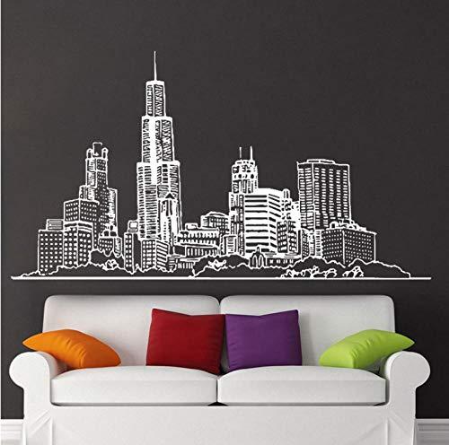Modern Sydney Skyline Wall Decal Sticker Home Decor for Living Room Vinyl -