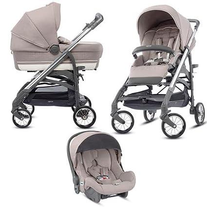 Inglesina – Cochecito de bebé triple modelo Trilogy Plus Panarea