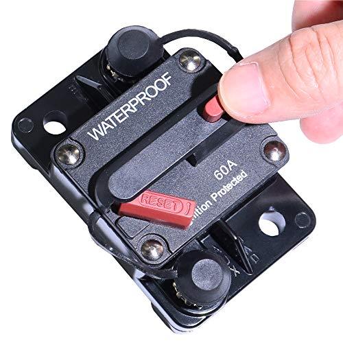 60 Amp Circuit Breaker Manual Power Fuse Reset by iztor (Image #2)