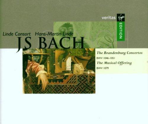 J.S. Bach: Brandenburg Concertos 1-6/Musical Offering; Hans-Martin Linde