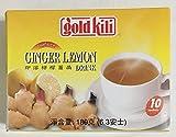 Gold Kili instant Ginger Lemon drink 10 sachets 6.3oz/18gx10