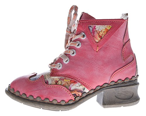 Winter Schwarz Knöchel Schuhe Boots gefüttert Damen Rot Stiefeletten TMA Rot Leder Comfort 5171 Blau Weiß 8XYnEqZxBw